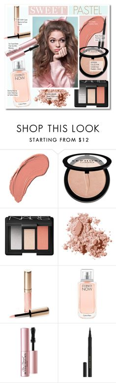 """Sweet Pastel"" by kusja ❤ liked on Polyvore featuring beauty, NYX, Sephora Collection, NARS Cosmetics, Bobbi Brown Cosmetics, By Terry, Calvin Klein, Too Faced Cosmetics, Kevyn Aucoin and Beauty"