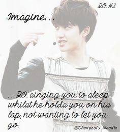 Exo Imagines, Cute Imagines, Kyungsoo, Chanyeol, Boyfriend Games, Boyfriend Quotes, Exo Do, Exo Memes, Kpop