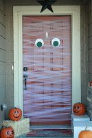 My mummy door- using tulle!