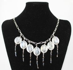 Clear Crystal Stones Necklace