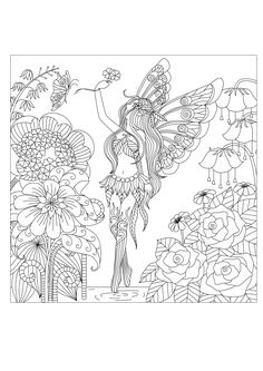 Pages Adults Flowers Queen By BimdeedeeFrom The Gallery 2016 Christmas Advent Calendard