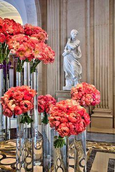 George V Lobby - Jeff Leatham Floral Design
