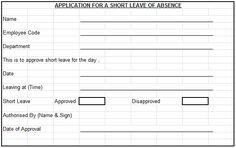 leave letter sample business application letter for office leave shortleaveapplicationforoffice application letter for office leave