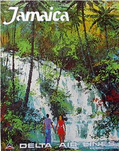 Jamaica ~ Delta Air Lines, by Jack Laycox