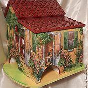 """Для дома и интерьера ручной работы. Ярмарка Мастеров - ручная работа Чайный домик """"Летнее настроение"""". Handmade."""