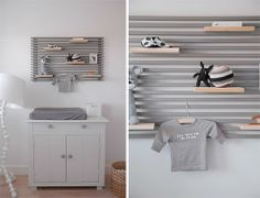 Easy DIY shelving - so clever!