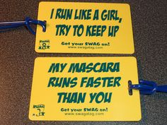 My mascara runs faster then you;)