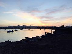 Atardecer en Talamanca, Ibiza  #ibiza #calas #atardecer #puestadesol