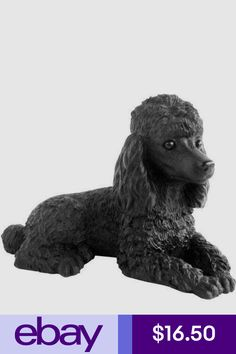 Reserved For C Vintage Poodle Figurine Large 11 Inch Size Atlantic Mold Ceramic Super Sweet Dog Decor Porcelain Collections Figurines Pinterest