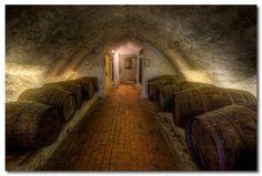 Beer Cellar, Leeds Castle, England