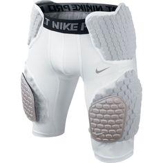 NEW/NWT Nike Pro Combat Hyperstrong Compression Padded Football Pants Asst Sizes #NikeProCombat #FootballBaseLayerPants34length