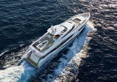 "38m Project ""NINA"" by Heesen Yachts and Hot Lab yacht & design http://www.yachtemoceans.com/nina-38m-heesen-yacht/ #yacht #superyacht #megayacht #jacht #yate #yatch #motorjacht #motoryacht"