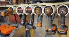 workbench screwdriver rack - Google Search
