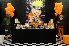 10th Birthday Parties, Teen Birthday, Birthday Party Decorations, Naruto Party Ideas, Percy Jackson Birthday, Naruto Birthday, Anime Cake, Party Organisers, Party Organization