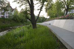 Desenvolvimento Urbano de Schwäbisch Gmünd. A24 Landschaft Landschaftsarchitektur GmbH. Schwäbisch Gmünd, Alemanha. 2008-2014.