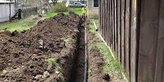 trench digging - Google Search Trench, Outdoor Structures, Google Search, Photos, Cake Smash Pictures