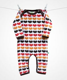 Sture & Lisa eco & fair trade baby jumpsuit.     I want!!!!