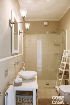bagno Improve Yourself, Interior Design, Mirror, House, Furniture, Bathrooms, Home Decor, Feels, Palette