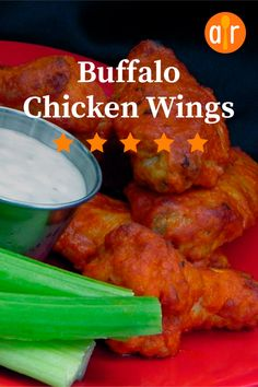 Restaurant-style buffalo chicken wings can be prepared in the comforts of your own home with a few simple ingredients. Baked Buffalo Wings, Buffalo Chicken, Dinner Dishes, Dinner Recipes, Wings Restaurant, Star Food, Baked Chicken Recipes, Tandoori Chicken, Allrecipes