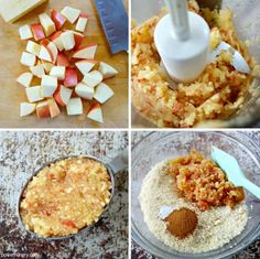 Apple Almond Flour Cookies {3-ingredients, vegan, oil-free} | power hungry Almond Flour Cookies, Cookies Vegan, Dairy Free Recipes, Bread Recipes, Vegan Recipes, Gluten Free, Cookies Ingredients, 3 Ingredients, 3 Ingredient Cookies