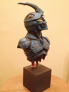 Finished painted Guyver Bust by Mutronics on DeviantArt