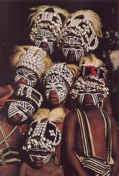 beautiesofafrique:Gio/Dan children || Ivory Coast || West Africa || National geographic, 1982 publication