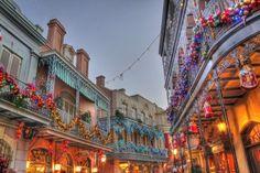 Royal Street New Orleans Square Disneyland