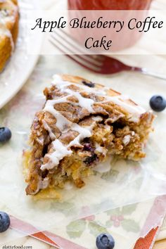 Blueberry coffee cakes, Blueberries and Coffee cake on Pinterest