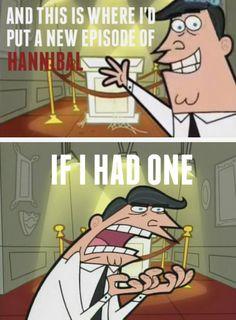 Hannibal: if your a Fannibal then you understand! Hannibal Funny, Hannibal Tv Show, Hannibal Series, Hannibal Lecter, Will Graham Hannibal, Cartoon Tv, Mads Mikkelsen, Tv Series, Geek Stuff