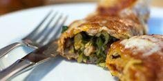 Kale, Zucchini, and Pinto Bean Enchilada Recipe Recipe