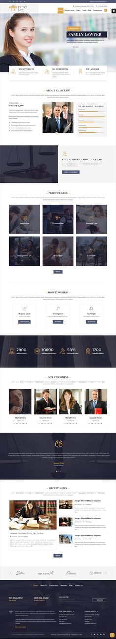 Trust is a clean and modern design #HTML #bootstrap template for #lawyer, attorney and law firms website download now➩ https://wrapbootstrap.com/theme/trust-modern-lawyer-attorney-theme-WB07DDJH8?ref=datasata