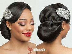 Wedding Hairstyles for Natural Hair – New Natural Hairstyles African Wedding Hairstyles, Black Wedding Hairstyles, Hairstyle Wedding, Bridal Hairstyles African American, Hair Updo, New Natural Hairstyles, Natural Hair Styles, Short Hair Styles, Gorgeous Hairstyles