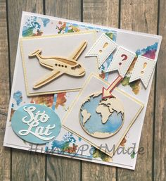Traveller birthday card