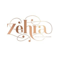 A little throwback to this pretty logo design for @zehrajagani - Who I absolutely adore because she picked the logo I loved the most..and one that was so perfect for her and truly unique  I remember sending it off and being so nervous!! It's simply the best when your client picks your favorite  #saffronavenue #logodesign #rosegold