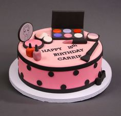 Introducing our new fondant make-up cake decorating class! Find out more details here and join us at the bakery! http://classes.carlosbakery.com/