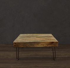 Reclaimed Wood Coffee Table by AtlasWoodCo on Etsy, $320.00