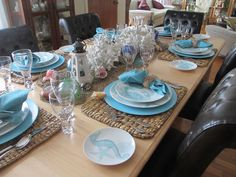 "The Welcomed Guest: ""Coastal Life"" Tablescape"
