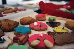 #FROSTED #COOKIES TIME!! It was so funny to prepare these colorful and delicious biscuits with mom ^_^  Perfect with a cup of TEA!