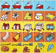 Beelddenken materialen | Adaptief onderwijs | Coreyn.nl Autism Activities, Sorting Activities, Sequencing Pictures, Kindergarten, Sequence Of Events, Logic Games, Memory Games For Kids, Down Syndrome, Speech And Language