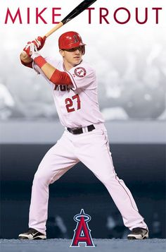 I'm seriously obsessed with Mike Trout. Most gorgeous man on the planet.