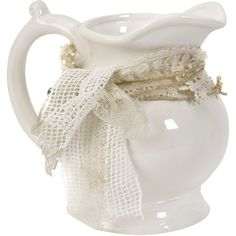 Decorated Pitcher