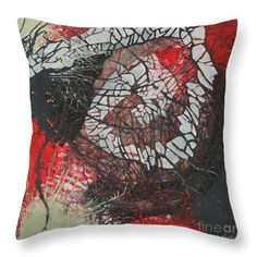 Energy network No III. Throw Pillow for Sale by Agota Horvath