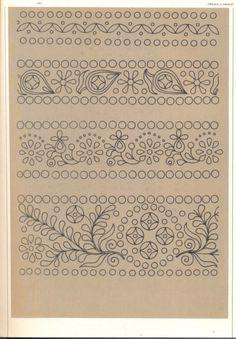 (5) Gallery.ru / Фото #67 - Slovenska ludova vysivka - Helena10 Embroidery Letters, Learn Embroidery, Embroidery Needles, Embroidery Fonts, Crewel Embroidery, Hand Embroidery Patterns, Vintage Embroidery, Cross Stitch Embroidery, Polish Folk Art