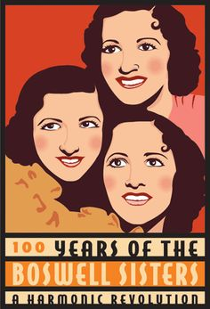 My husband & I have a running theory that all Boswell's look alike (including vintage ones) proof seen here, although there is a possibility I could be pretty closely related to them... Boswell Sisters by Confetta, via Flickr