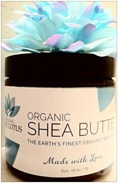 Healing Blue Lotus Organic Shea Butter