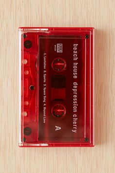 Beach House - Depression Cherry Cassette Tape - Urban Outfitters