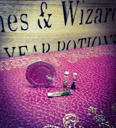 1:12 dollhouse Witch & Wizard potion test tubes By Vanilla Heart