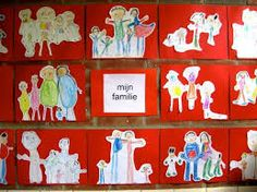 Kleurplaten Thema Familie.82 Beste Afbeeldingen Van Thema Ikzelf En Mijn Familie