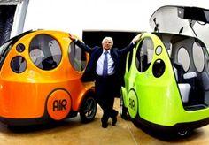 Auto que funciona con aire comprimido en vez de combustible