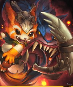 League of Legends,Лига Легенд,фэндомы,Gnar